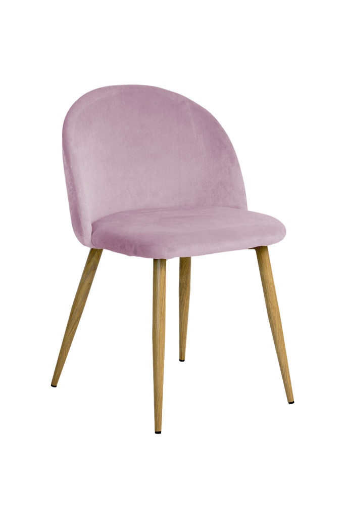 """Krzesło """"JOY"""" różowe"""