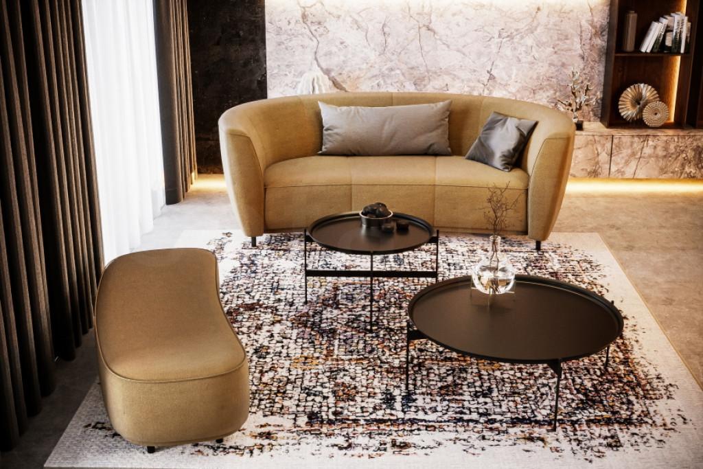 Wygodna i oryginalna sofa TURIN