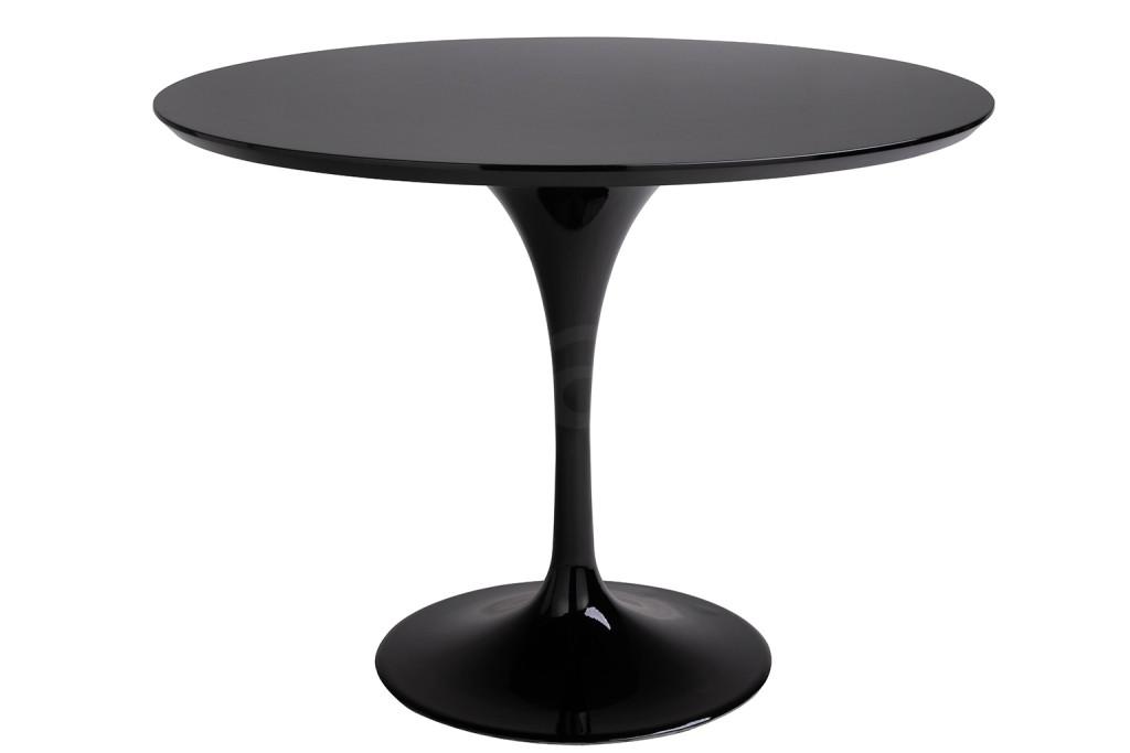 Stół TULIP czarny 100CM - MDF