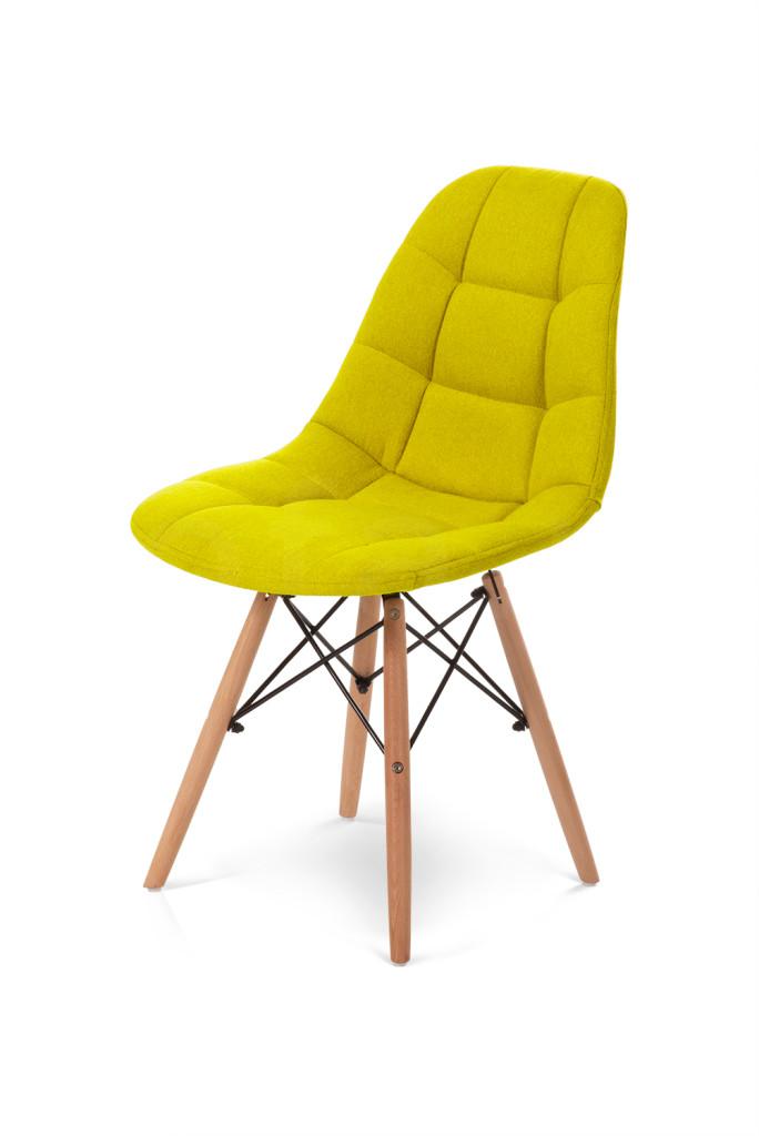 """Krzesło """"JAZZ"""" żółte"""