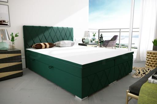 """Łóżko kontynentalne """"RIVIERA"""" 180x200"""