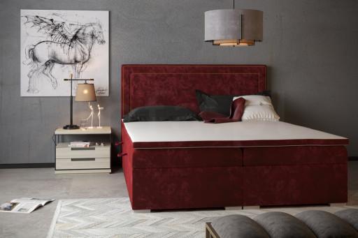 """Łóżko kontynentalne """"BLIK"""" 160x200"""