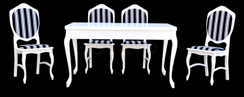 """Zestaw """"RICO"""" stół + 4 krzesła"""