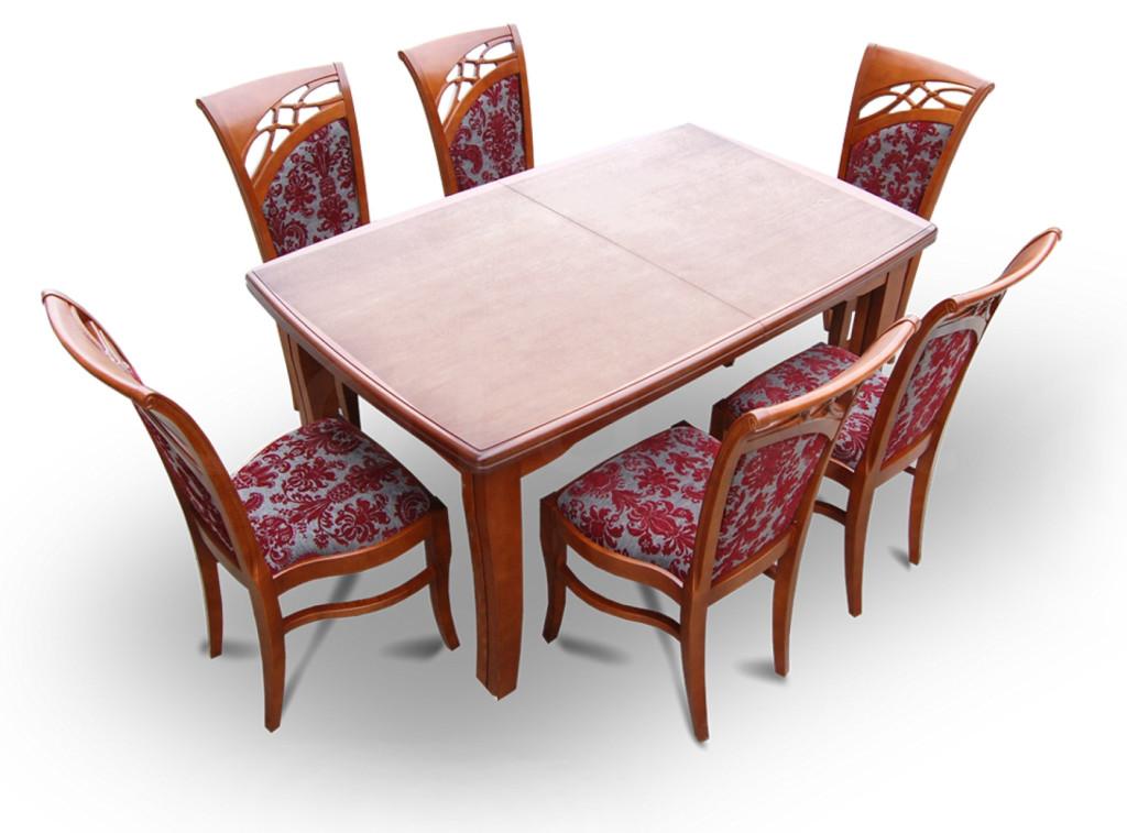 """Zestaw """"CIS"""" stół + 6 krzeseł"""
