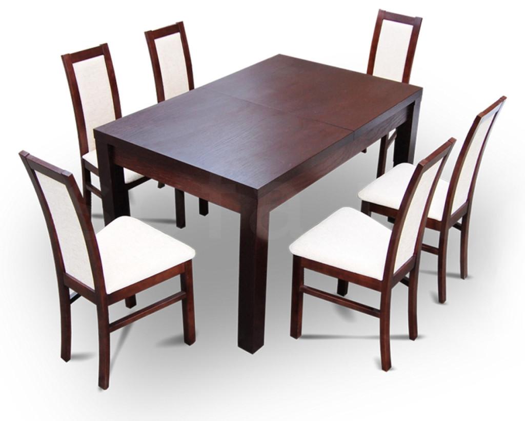 """Zestaw """"KARO"""" stół + 6 krzeseł"""