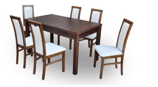 """Zestaw """"DIVA"""" stół + 6 krzeseł"""