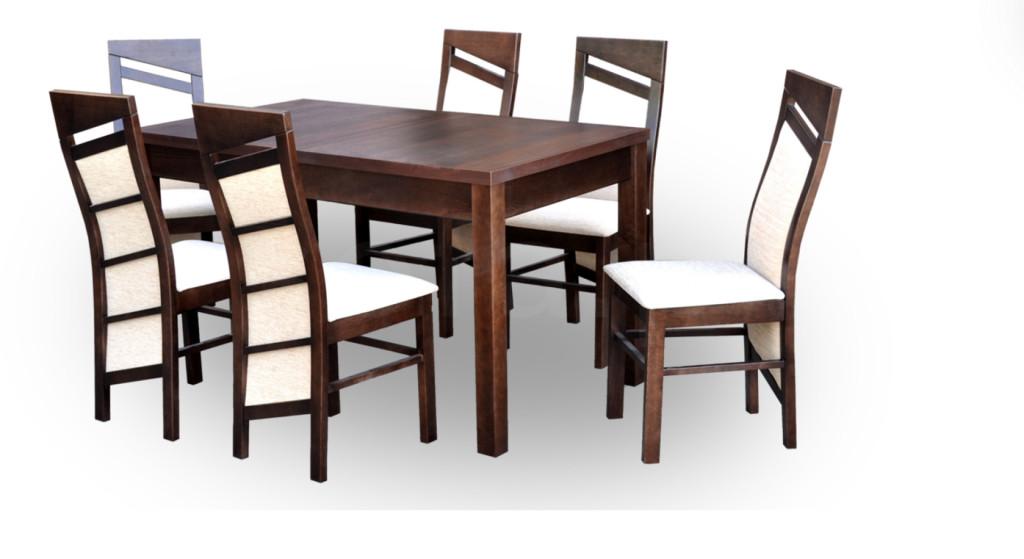 """Zestaw """"LUPIS"""" stół + 6 krzeseł"""