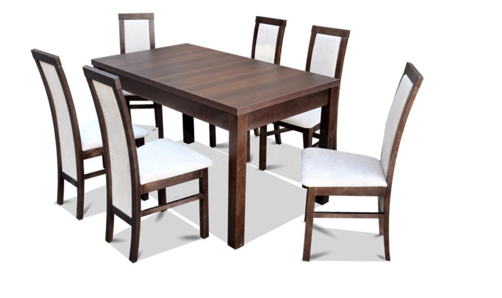 "Zestaw ""MAT"" stół + 6 krzeseł"