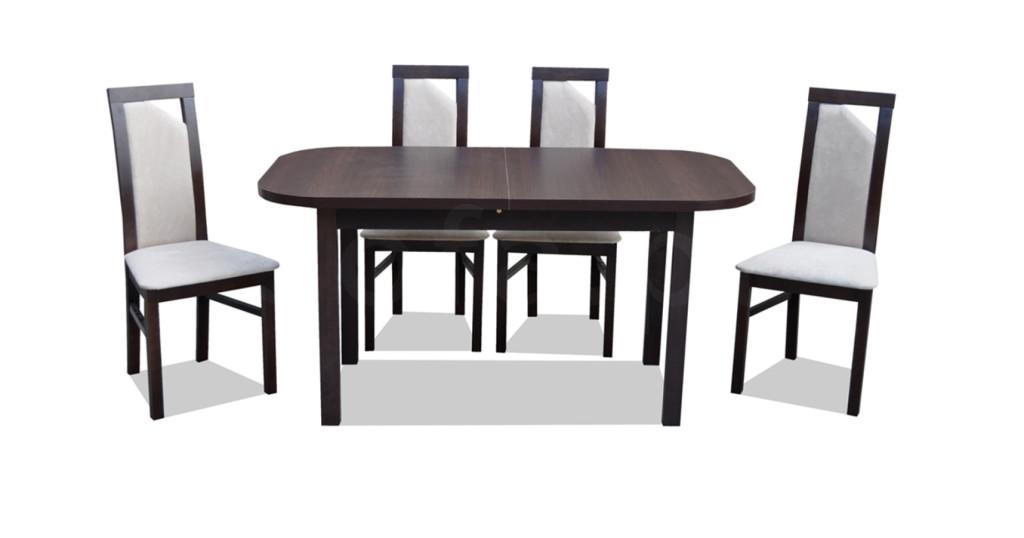 """Zestaw """"REC"""" stół + 4 krzesła"""