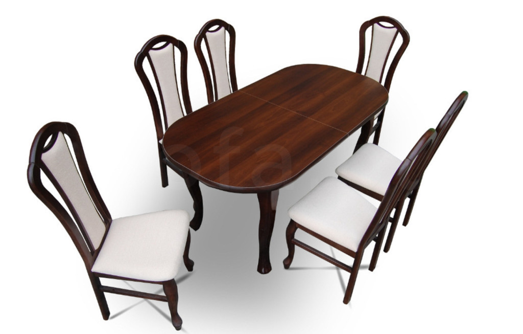 """Zestaw """"KIMI"""" stół + 6 krzeseł"""