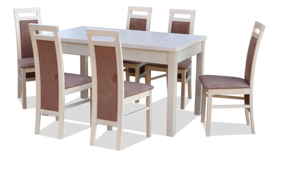 """Zestaw """"MIKI"""" stół + 6 krzeseł"""