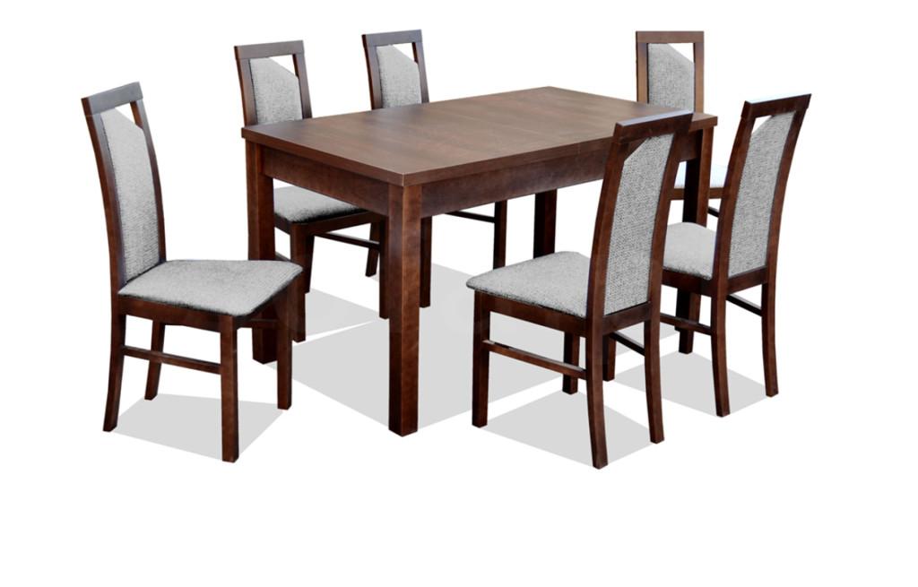 """Zestaw """"REC"""" stół + 6 krzeseł"""