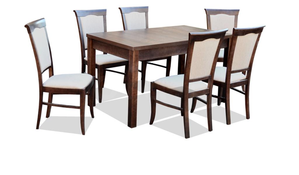 """Zestaw """"LISA"""" stół + 6 krzeseł"""