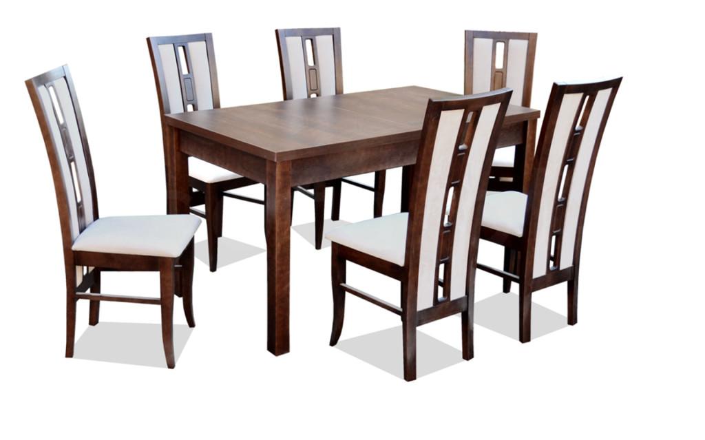 """Zestaw """"DANNY"""" stół + 6 krzeseł"""