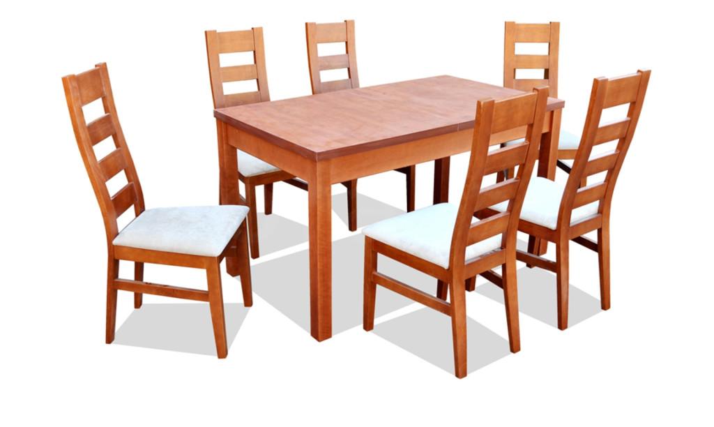 """Zestaw """"LENA"""" stół + 6 krzeseł"""