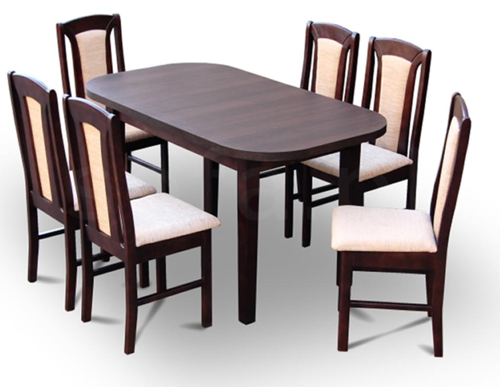 """Zestaw """"ALLA"""" stół + 6 krzeseł"""