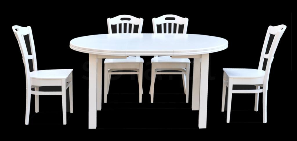 """Zestaw """"ARM"""" stół + 4 krzesła"""