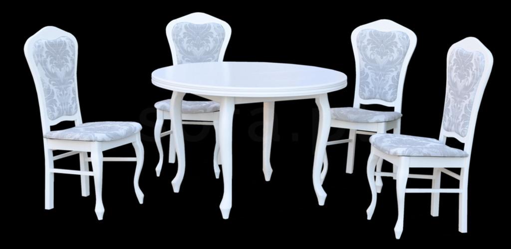 """Zestaw """"DINO"""" stół + 4 krzesła"""