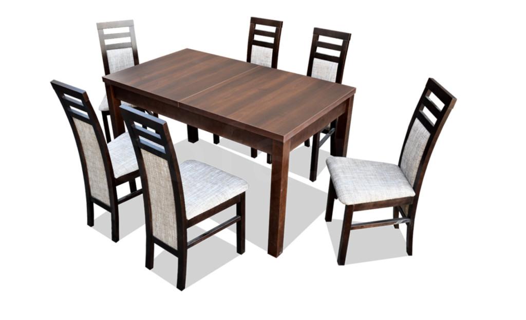 """Zestaw """"ROB"""" stół + 6 krzeseł"""