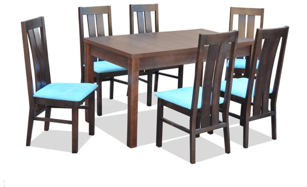 """Zestaw """"ROM"""" stół + 6 krzeseł"""