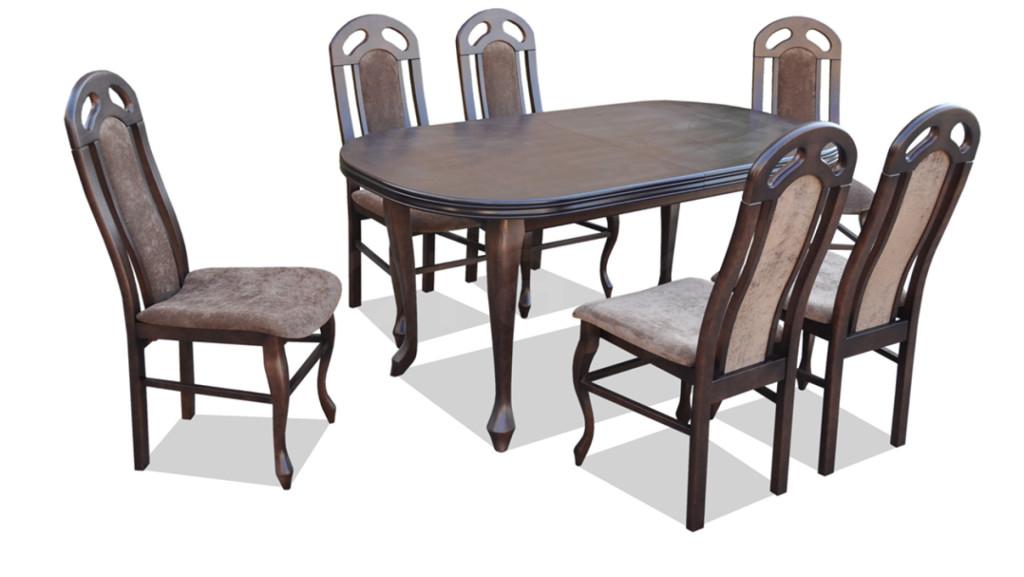 """Zestaw """"DIK"""" stół + 6 krzeseł"""