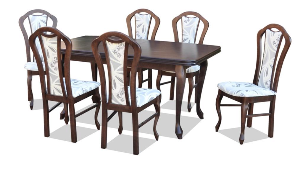 """Zestaw """"KIMI 2"""" stół + 6 krzeseł"""