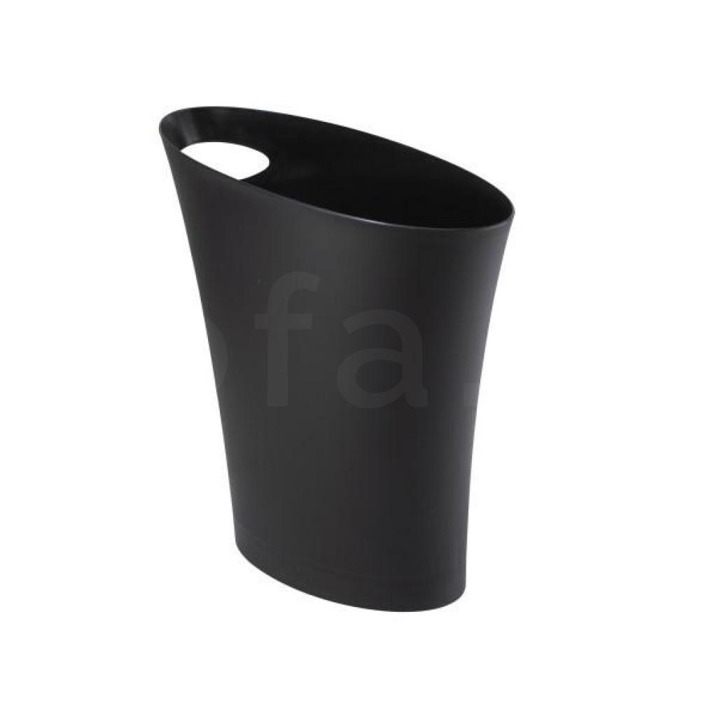 UMBRA kosz na śmieci SKINNY czarny