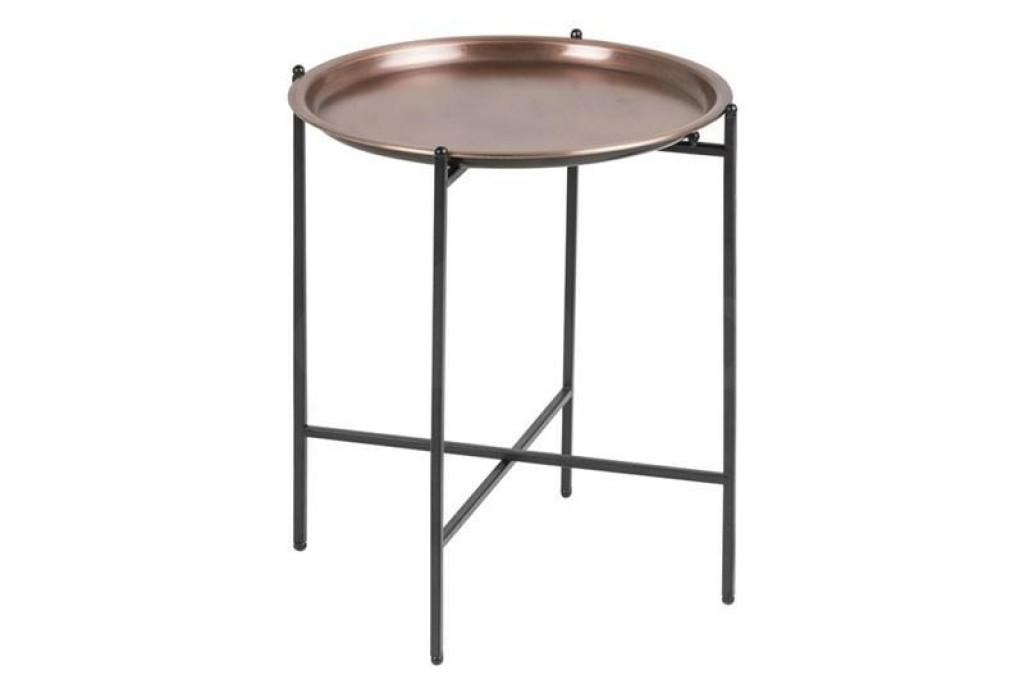 ACTONA stolik kawowy OSBORN miedziany - metal