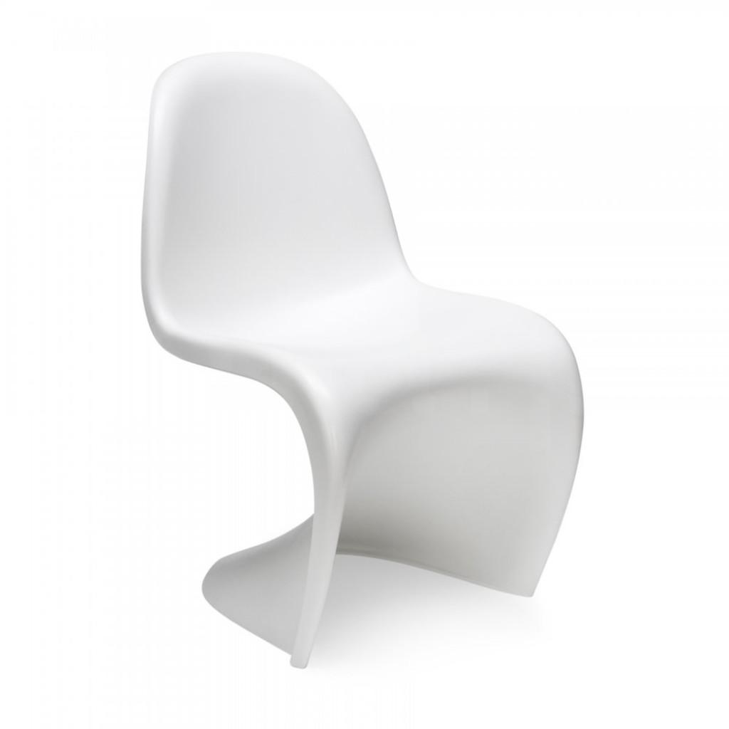 Krzesło HOVER PREMIUM białe - polipropylen