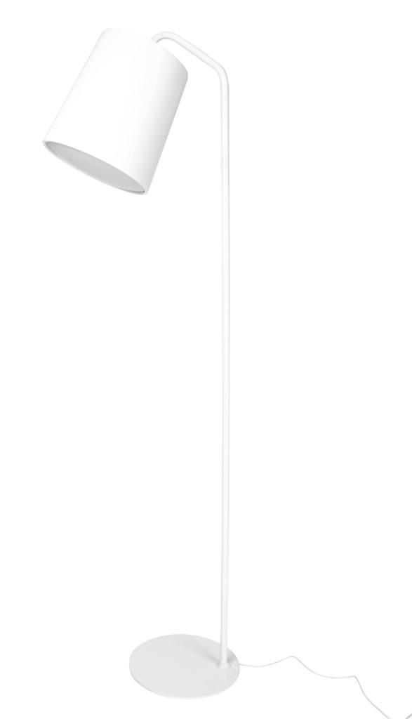 Lampa podłogowa FLAMING biała
