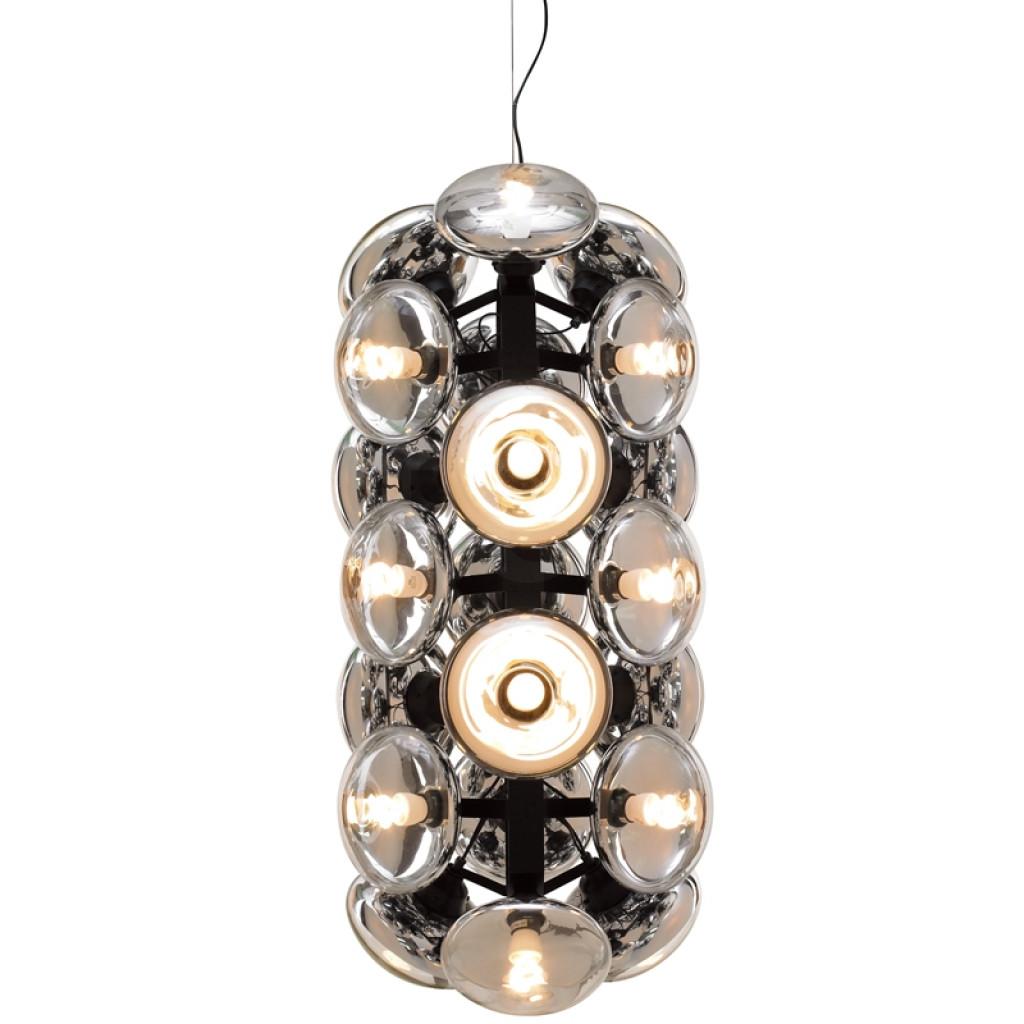 Lampa wisząca BOMBILLA 21 - szkło, metal
