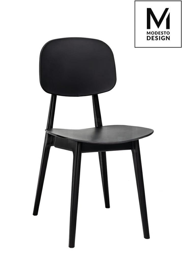 MODESTO krzesło ANDY czarne - polipropylen