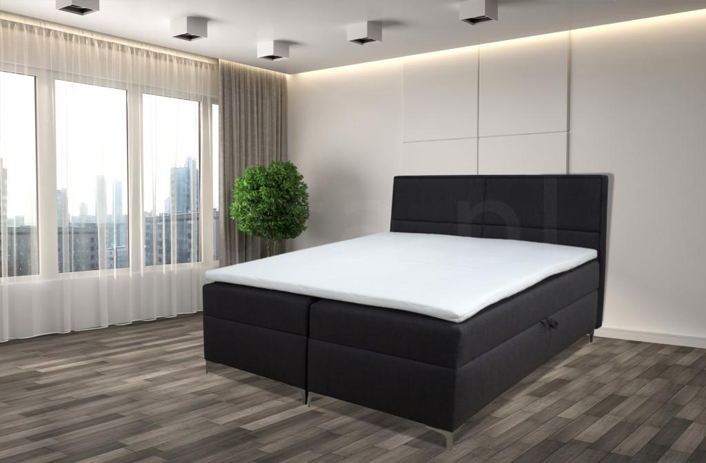 """Łóżko kontynentalne  """"JEY"""" 160/200 cm"""