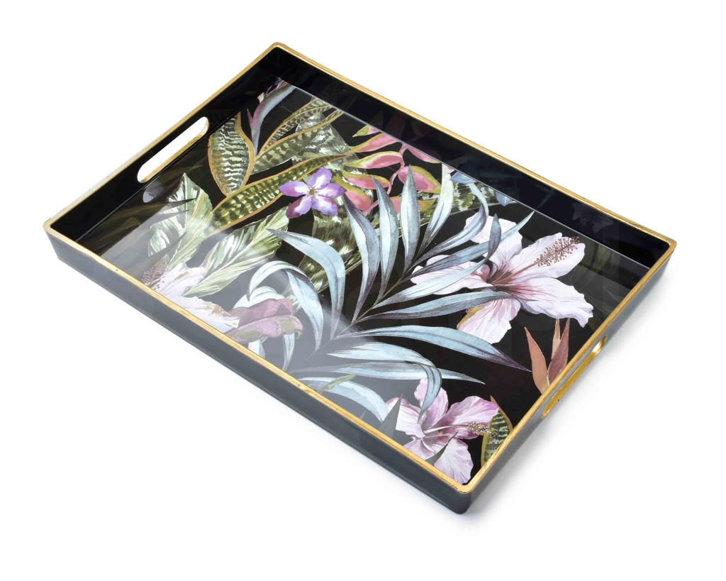 BLANCHE COLOURS Taca 40x25,6x3,5cm       art. dekoracyjny