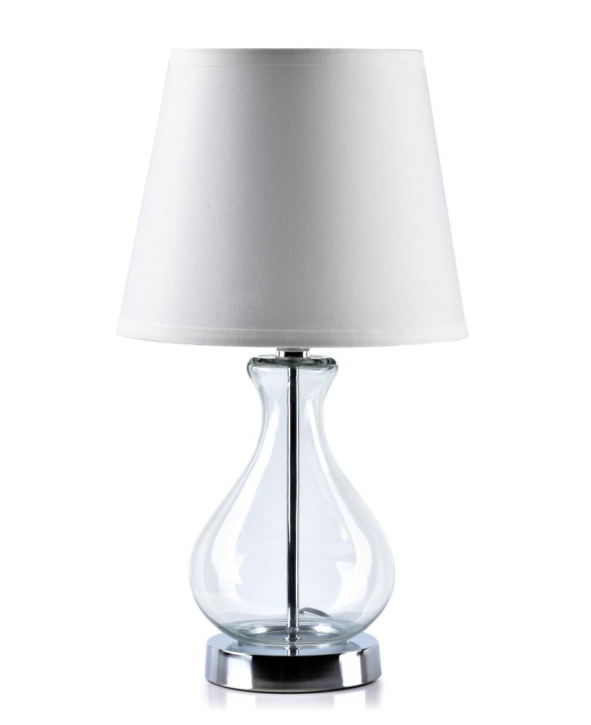BIANCA Lampa 25xH45cm