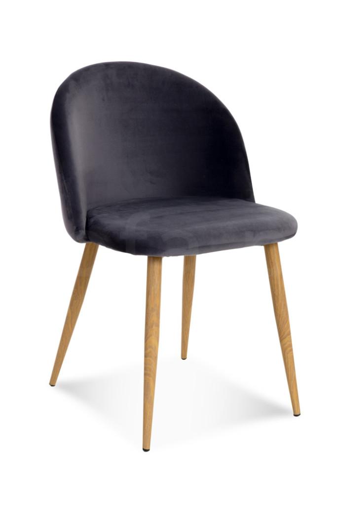 """Krzesło """"JOY"""" ciemno szare"""
