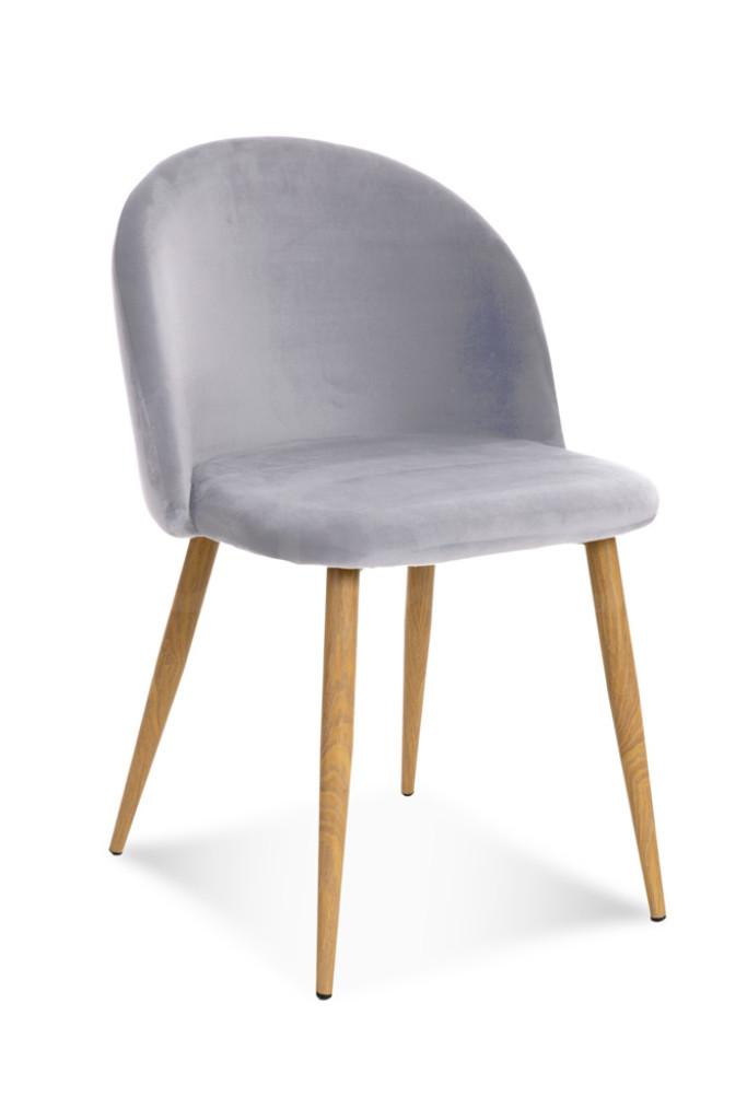 """Krzesło """"JOY"""" jasno szare"""