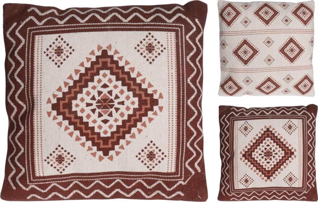Poduszka 45x45cm bawełna  2  rodzaje
