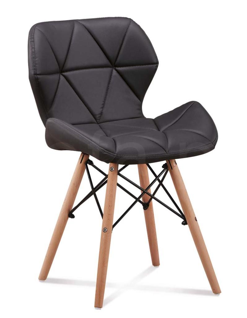 """Krzesło """"NOSTI"""" czarne"""