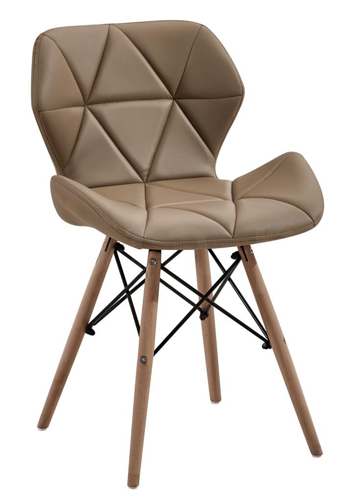 """Krzesło """"NOSTI"""" cappucino"""