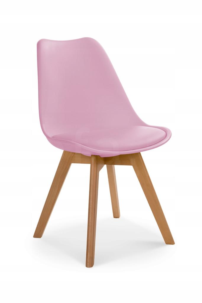 """Krzesło """"ALIS"""" różowe"""