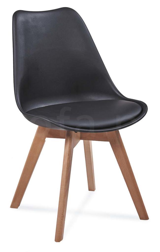 """Krzesło """"ALIS"""" czarne"""