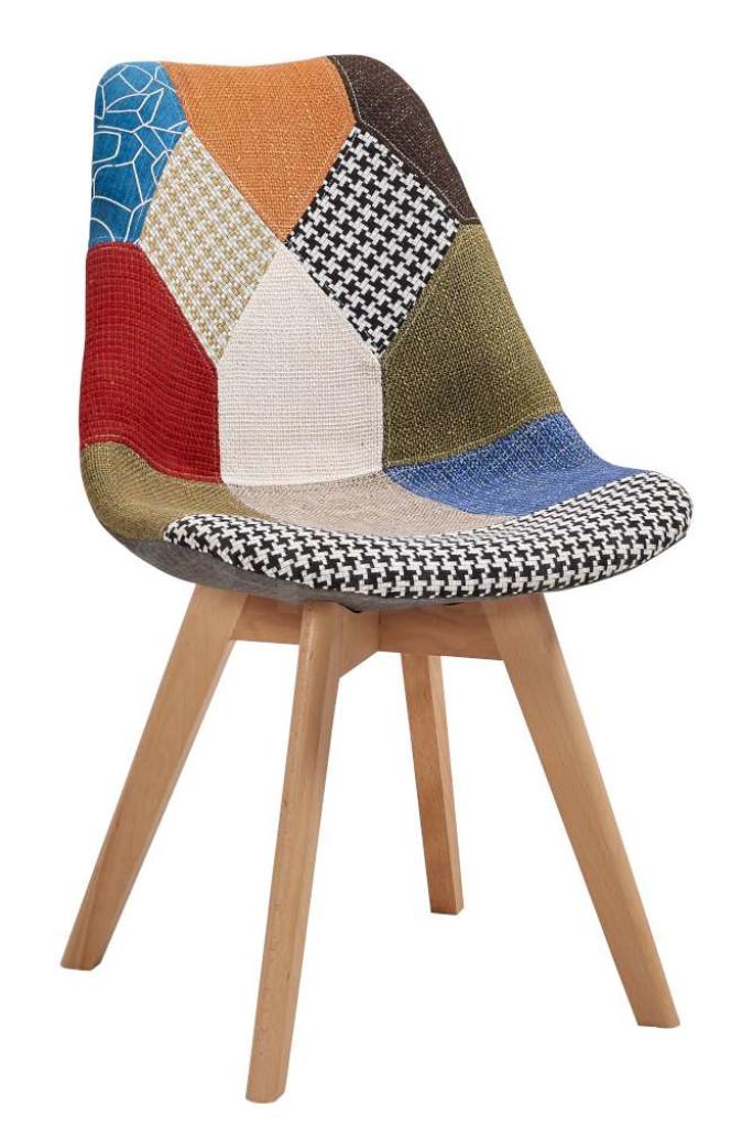 """Krzesło """"ALIS"""" patchwork"""