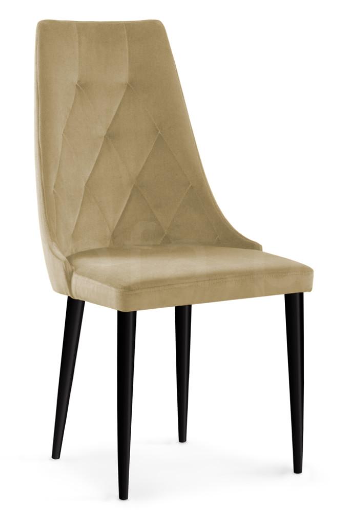 """Krzesło """"ALBENA"""" czarne nogi"""
