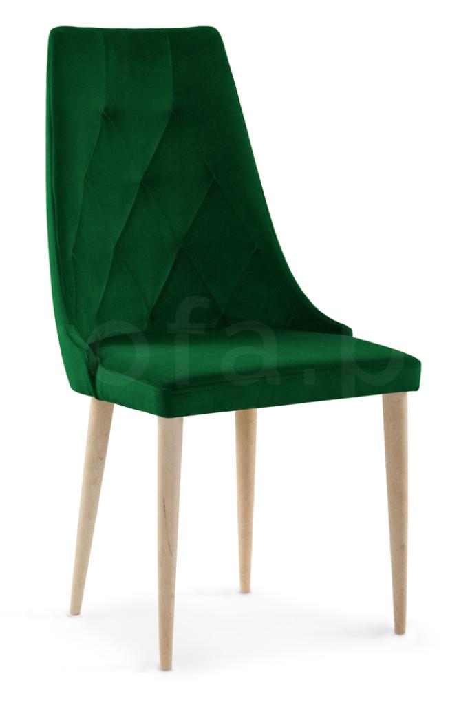 """Krzesło """"ALBENA"""" nogi dąb"""