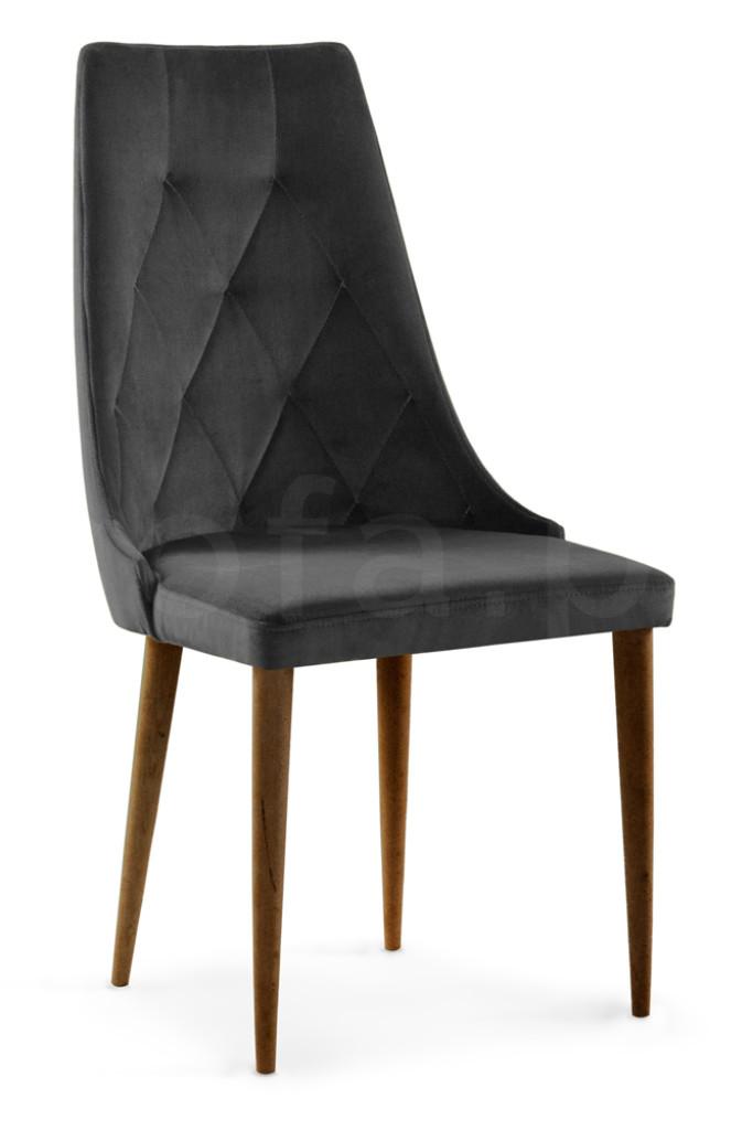"""Krzesło """"ALBENA"""" nogi orzech"""