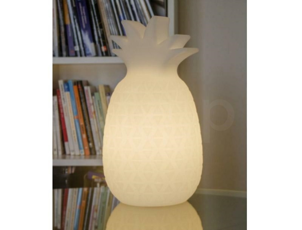 NEW GARDEN lampa stołowa SAMBA B biała - LED, wbudowana bateria