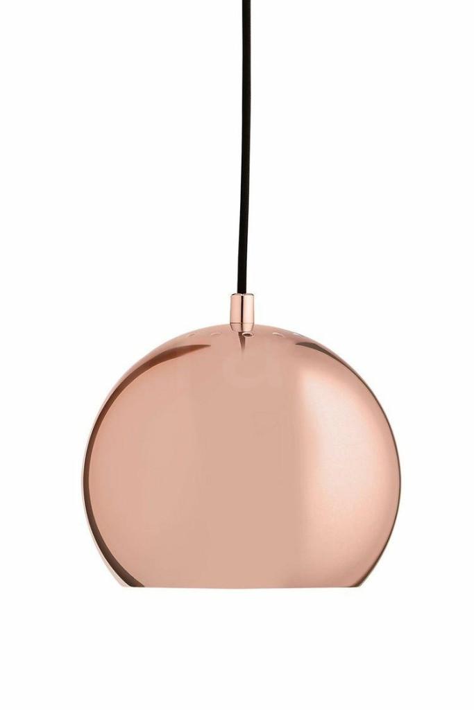 FRANDSEN lampa wisząca BALL S miedziana