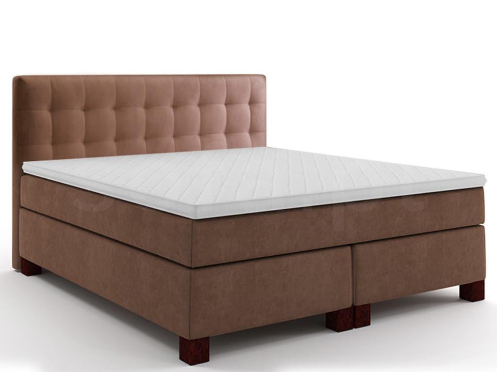 """Łóżko kontynentalne """"MALAGA"""" 160x200"""