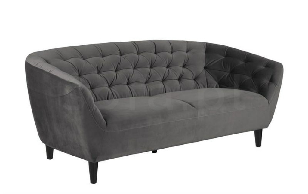 ACTONA sofa 3 osobowa RIA  - ciemnoszary